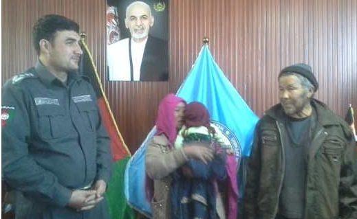 کودک ربوده شده در بامیان