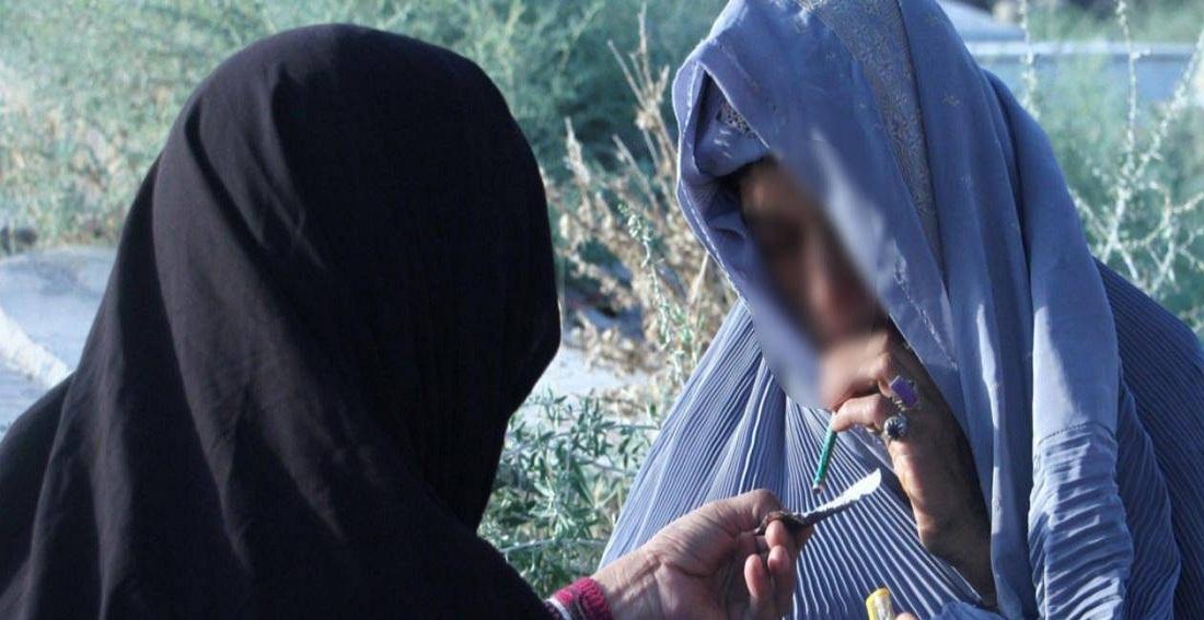 اعتیاد زنان و کودکان