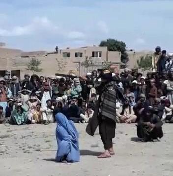 دادگاه صحرایی یک زن در هرات