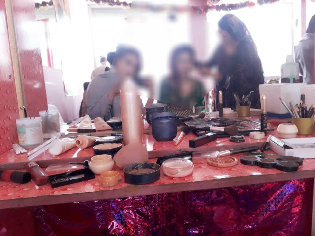 آرایشگاهی در کابل. عکاس: لیلا یوسفی