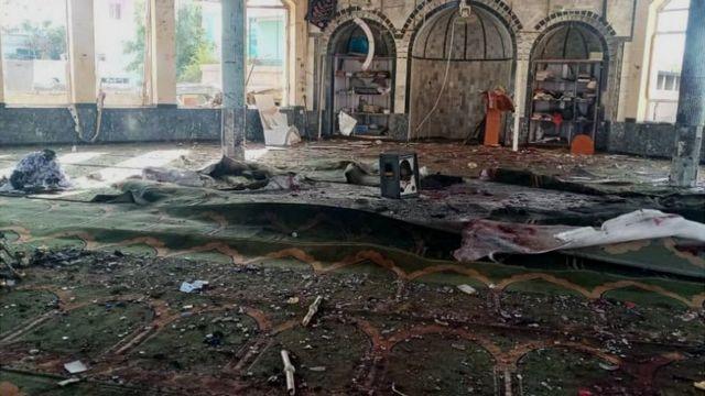 انفجار در قندوز. عکس: رسانههای اجتماعی