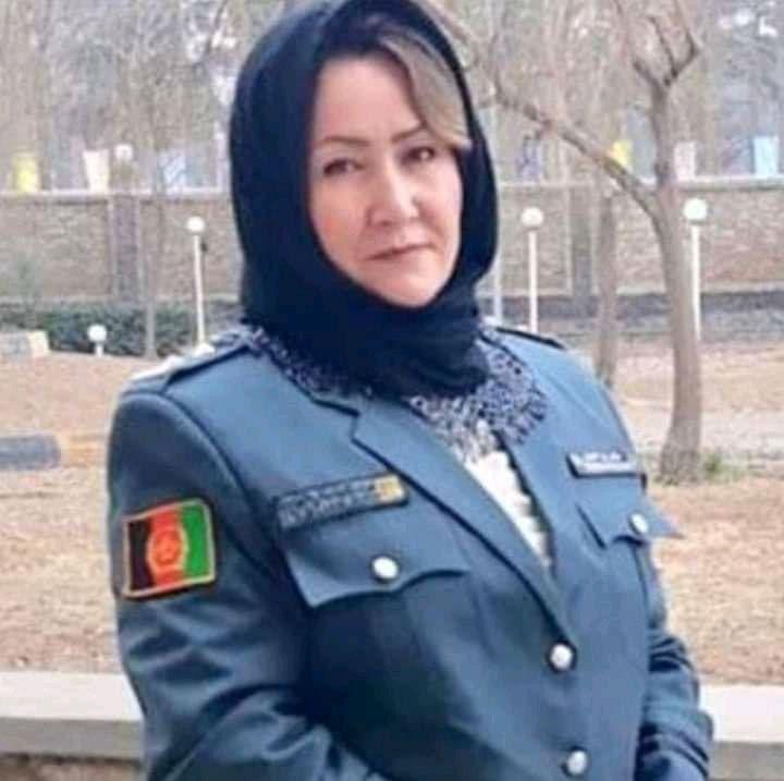 عالیه عارفی، مدیر زندان زنانه هرات. عکس: ارسالی به رخشانه