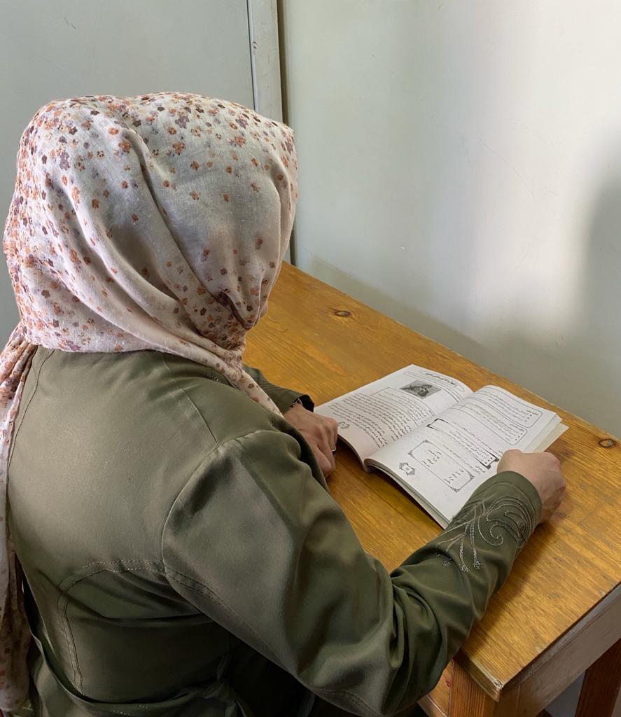 آموزگاری در کابل. عکس: ارسالی به رخشانه.
